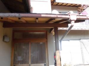 【雨樋工事】奈良県桜井市O様邸 雨樋交換と掃除と足場解体