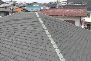 【屋根塗装,屋根修理】奈良県宇陀市S様邸 屋根塗り替え 断熱遮熱塗料ガイナ塗装工事