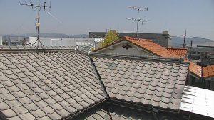 奈良県橿原市 屋根瓦の点検1