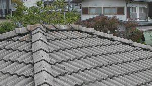 奈良県宇陀市 屋根調査3