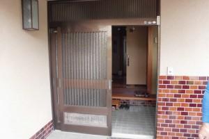 奈良県宇陀市S様邸 玄関ドア交換工事