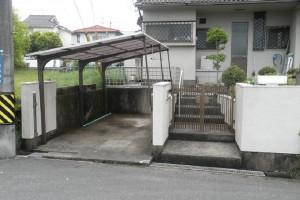 奈良県桜井市M様邸 波板張替工事