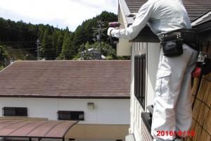 【屋根修理】奈良県宇陀市T様邸 屋根板金修理工事
