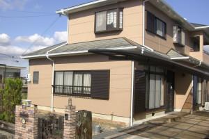 【外壁塗装工事】三重県名張市I様邸 外壁塗装工事
