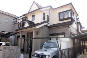 【外壁塗装工事】奈良県宇陀市K様邸 外壁塗装工事