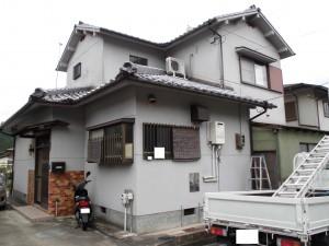 【外壁塗装・外壁修理】奈良県橿原市T様邸 外壁診断(現場調査)・外壁点検です。