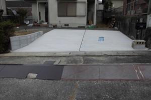 【駐車場拡張工事・外構工事】三重県名張市O様邸 駐車場拡張工事