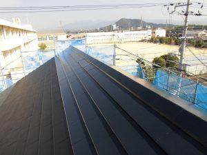 奈良県橿原市H様 屋根中塗り1
