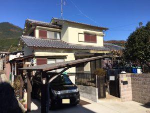 奈良県宇陀市 高耐久シリコン塗装2