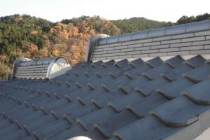 【屋根工事・屋根リフォーム】奈良県宇陀市N様邸 屋根漆喰工事