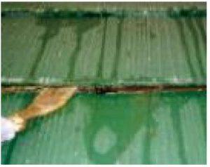 奈良県橿原市 スレート屋根塗装後の雨漏り1