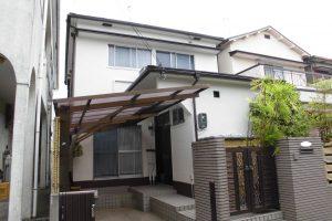 【屋根工事,外壁塗装工事】奈良県橿原市T様邸 屋根重ね葺きと外壁塗装工事