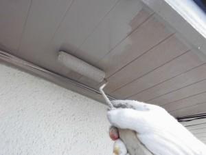 【外壁塗装・外壁修理】奈良県橿原市S様邸 軒裏天井とベランダ床の修理と防水工事