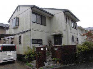 三重県名張市 築20年超のセキスイの屋根と外壁の調査