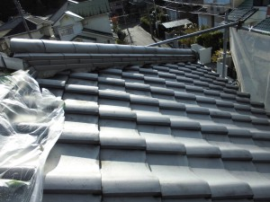 【屋根漆喰修理・雨漏り修理】奈良県宇陀市N様邸 屋根漆喰塗り替え工事の詳細です。