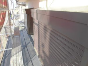 奈良県橿原市 雨戸塗装前
