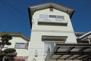 奈良県橿原市 サイディング外壁にシリコン塗料を塗装
