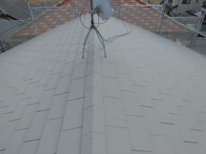 橿原市 ガイナ屋根塗装3