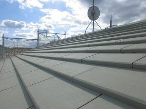 橿原市 ガイナ屋根塗装4