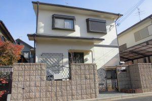 奈良県橿原市 16年長持ちするシリコン塗料を外壁塗装