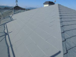 名張市 20年長持ちするガイナで屋根の塗装リフォーム