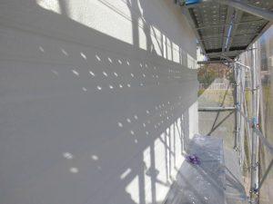 橿原市 15年持つシリコン塗料をサイディング外壁に塗装