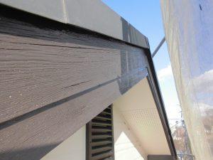 橿原市 破風板塗装