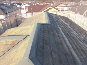 三重県名張市 スレート屋根工事前