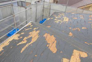 三重県名張市 スレート屋根の解体2