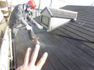 奈良県橿原市 屋根外壁洗浄
