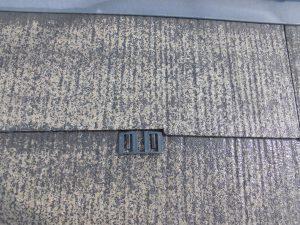 橿原市 縁切タスペーサーを雨漏り防止に屋根塗装前に設置