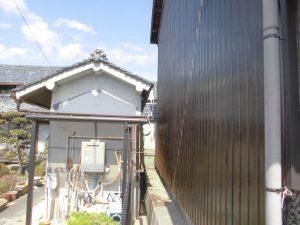 奈良県桜井市 外壁カバー工法工事 プリント鋼板張る3