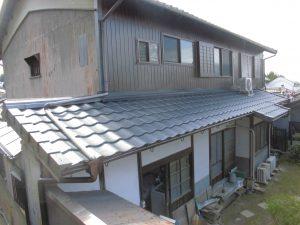 奈良県桜井市 軽量瓦ルーガ完成