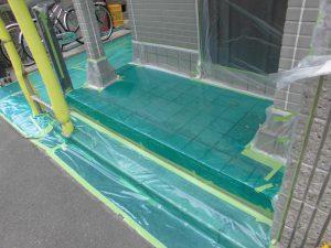 奈良県橿原市 外壁屋根塗装前の養生1