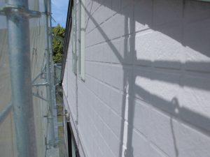 名張市 夏涼しい冬暖かい断熱セラミックガイナを外壁塗装