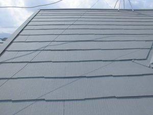 奈良県橿原市 屋根にガイナ塗装3