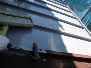 トタン屋根塗装 錆び止め塗装