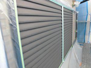 奈良県橿原市H様 雨戸塗装 錆び止め塗装