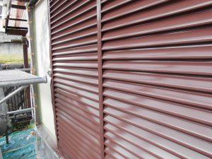 奈良県宇陀市 雨戸塗装完了1