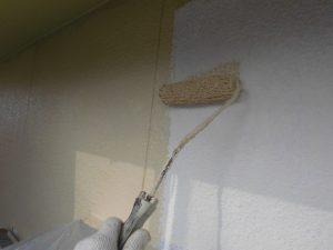 奈良県宇陀市I様 モルタル外壁にエスケープレミアムシリコンを塗装1