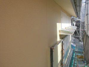 奈良県宇陀市I様 モルタル外壁にエスケープレミアムシリコンを塗装2