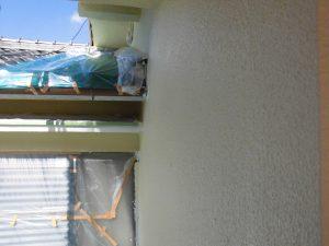 奈良県宇陀市I様 モルタル外壁にエスケープレミアムシリコンを塗装3