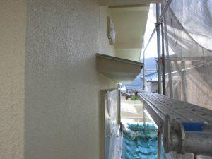 奈良県宇陀市I様 モルタル外壁にエスケープレミアムシリコンを上塗り3