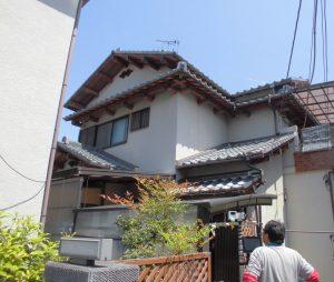 奈良県橿原市雨漏り調査1
