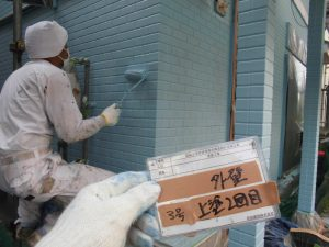 奈良県橿原市 断熱セラミックガイナ2回目塗装