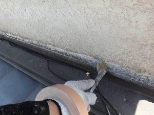 三重県名張市 外壁修理 プライマー塗布