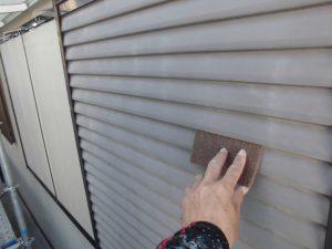 奈良県宇陀市 長持ちさせるために錆止め塗装後に雨戸塗装