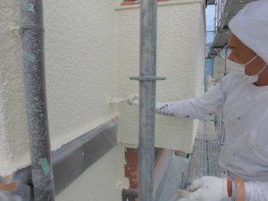 名張市 15年長持ちするシリコン塗料を外壁に塗装