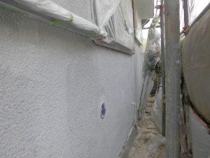 奈良県橿原市 外壁下塗り塗装4