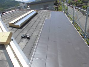 奈良県宇陀市 屋根カバー工法2
